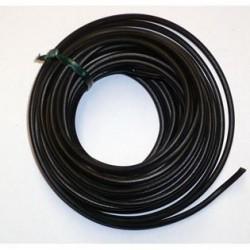 Câble 2x1.5 noir par mètre
