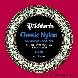 D'addario Classical guitar Hard tension
