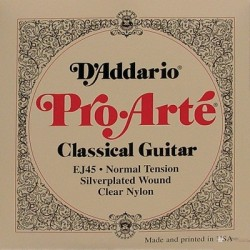 D'addario Classical guitar Normal tension