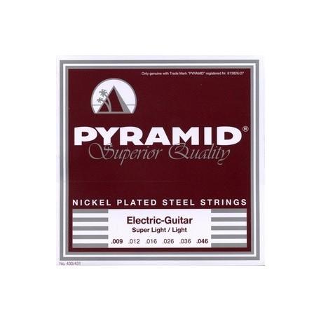 Pyramid electric guitar nickel plated steel