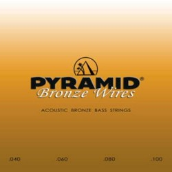 Pyramid Acoustic bronz bass strings