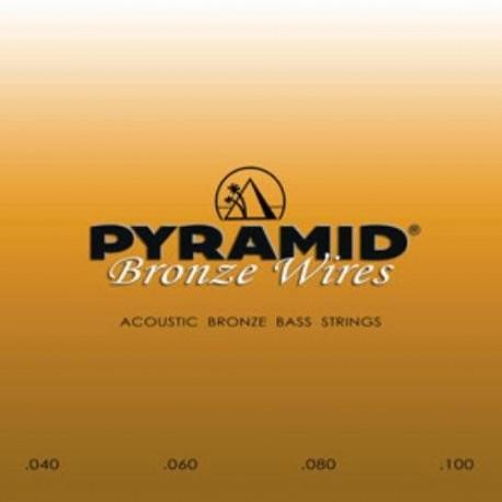 Pyramid Acoustic bronz bass strings