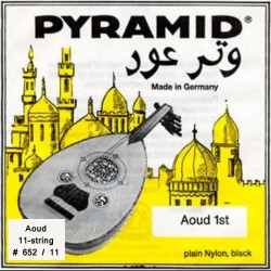 Pyramid Aoud Black nylon