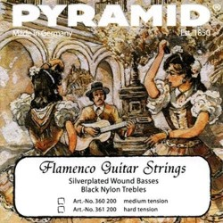 Pyramid flamenco guitar