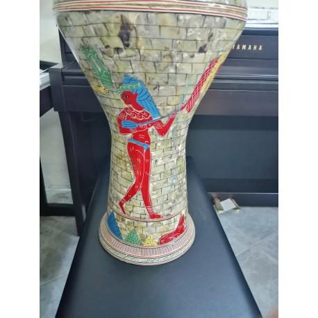 Darbouka égyptienne avec pochette