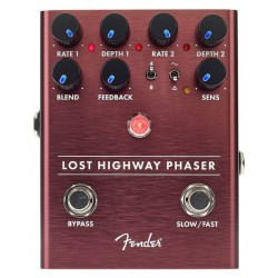 Pédalier pédale de guitare Multi-effet Fender Lost Highway Phaser