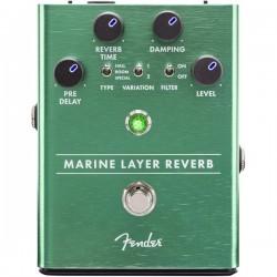Pédalier pédale de guitare Multi-effet Fender Marine Layer Reverb