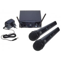 2 Micros AKG WMS40 Mini Wireless
