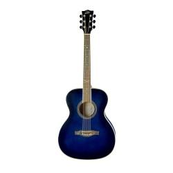 Guitare acoustique Folk EKO bleue