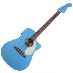 Guitare électro-acoustique Fender Sonoran SCE Blue