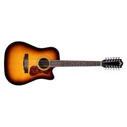 GUILD Guitare Acoustique 12 Cordes D-2612CE Deluxe