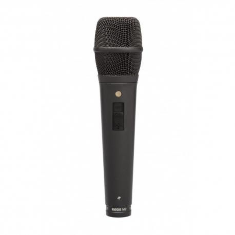 RODE M2 Microphone de scène avec switch