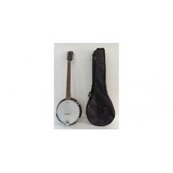 Banjo 6 cordes avec housse