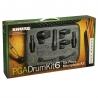 Micro pour batterie SHURE PGA DRUMKIT 6