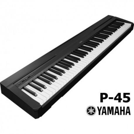 Piano Yamaha P-45 avec adaptateur