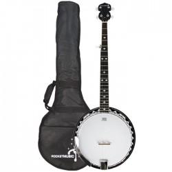 Banjo 5 cordes avec housse 30